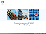 FY2016 RESULTS BRIEFING